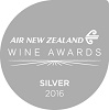 Silver Air New Zealand Wine Awards 2016