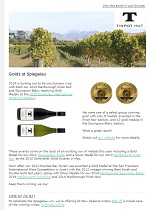 Tinpot Hut Wines newsletter August 2015