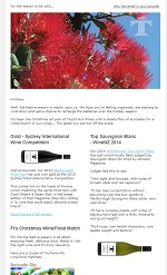 Tinpot Hut Wines newsletter December 2013
