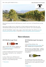 Tinpot Hut Wines newsletter November 2015