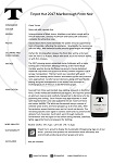 PIN 2017 tasting note