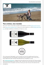 Tinpot Hut Wines newsletter September 2015